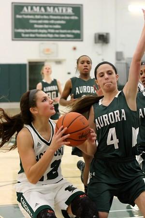 Ladies Basketball - Aurora @ Nordonia
