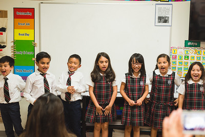 2nd - 3rd Grade Chinese Oral Presentations
