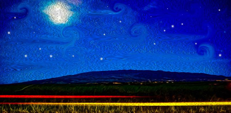 Starry Starry Haleakala Night