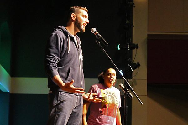 Poets visit RE