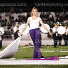 Sophomore Samantha Anderson finishes the drill team routine on Sept. 11 at the North Stadium.