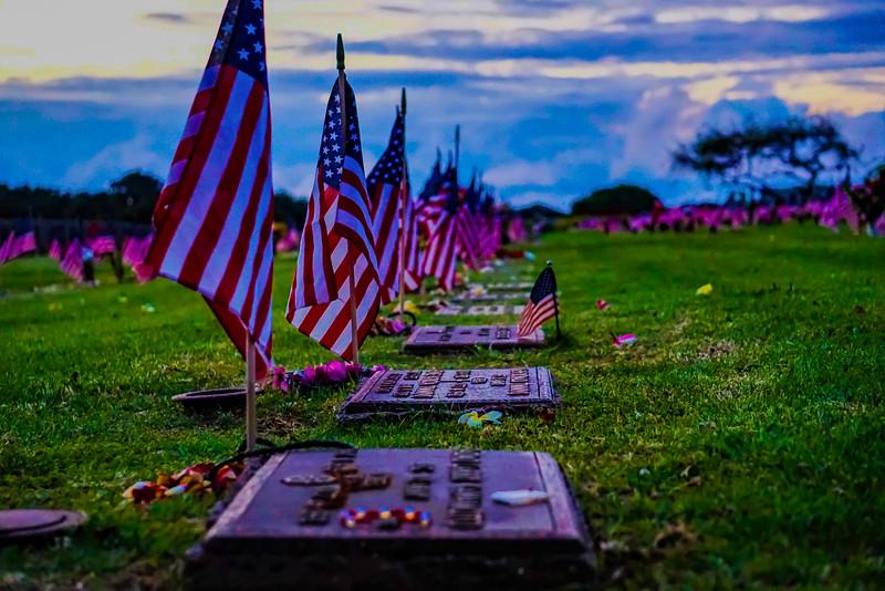 Maui Memorial Sunset