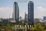 Skyscrapers in Reforma walk
