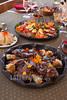 Argentina : Carne y Maiz. El Solar del Trópico . Turismo rural y alternativo. Ruta 9 , Quebrada de Humahuaca / Argentinien : Fleischgericht im Hotel El Solar del Trópico © Marcelo Somma/LATINPHOTO.org