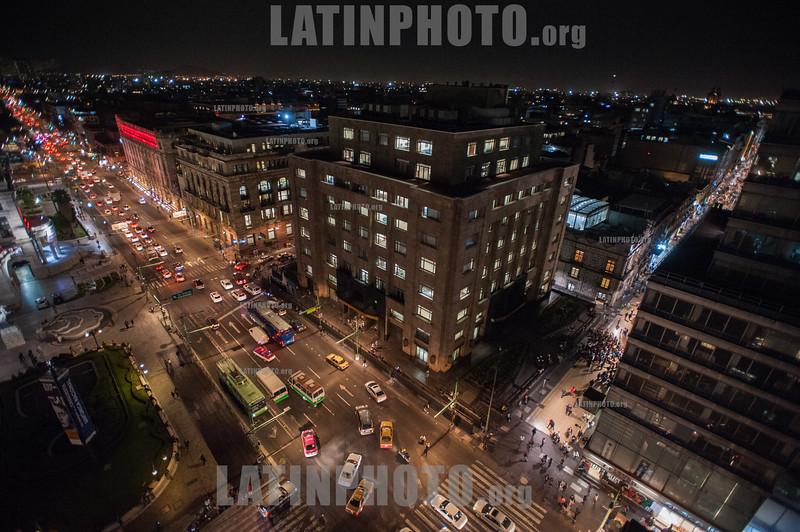 Mexico city landcape