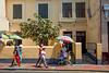 PERU - LIMA - 02/04/2015 - Vendedora callejera de jugo en las calles de Lima / Juice seller at the streets of Lima / Peru : Strassenverkäufer in Lima © Bruno Bertagna/LATINPHOTO.org