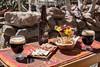 """Argentina : """"Picada"""". Cerveza artesanal , quesos ,  fiambres y pan casero. Posada de Luz , Cabañas y Bed & Breakfast. Cabañas al pie de los cerros en Tilcara - gastronomía / Argentinien :  Posada de Luz - Bier © Marcelo Somma/LATINPHOTO.org"""