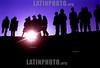 Argentine : Blocage de route pres de la ville de Tarija le 17 octobre 2003 , la veille de la demision du president Sanchez de Losada pendant la guerre du gaz / Argentinien : Strassenblockade 2003 © Nicolas Pousthomis/Sub.Coop/LATINPHOTO.org  ( This picture is blocked for publication in France )