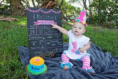 Melina's 1st Birthday