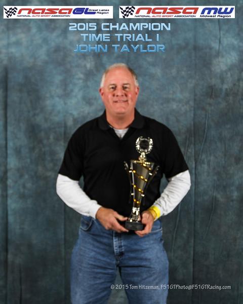 Time Trials Champions & Podium Finishers