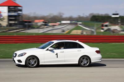 HPDE #1 Mercedes