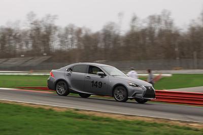 HPDE #149 Lexus IS350 @ Mid-Ohio, April 2015