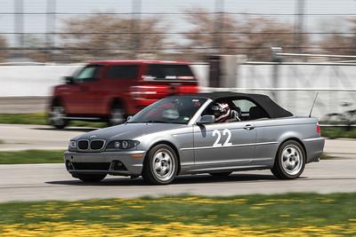 HPDE #33 BMW 330ci @ Gateway, April 2015