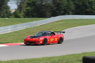 ST1 #101 Corvette @ NCM Motorsports Park, July 2015