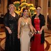 Christine Wilcox, Lara andFiona Green (rt)