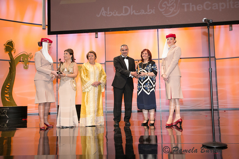 Special Award to Wadouda  Badran and HE Lulwa  Awadhi