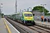 4002 arrives into Portlaoise with the 0920 Cork - Heuston. Fri 12.06.15
