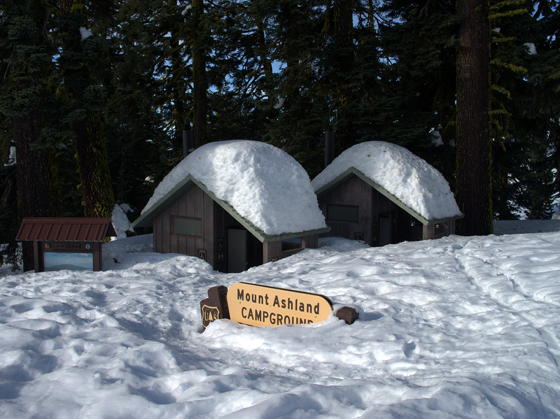 Grouse Gap Shelter Mount Ashland Oregon