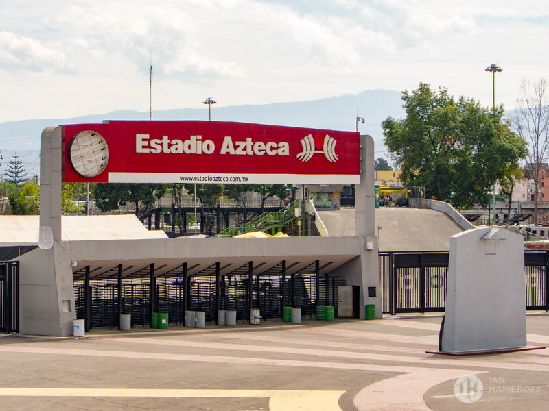 Gates of Estadio Azteca