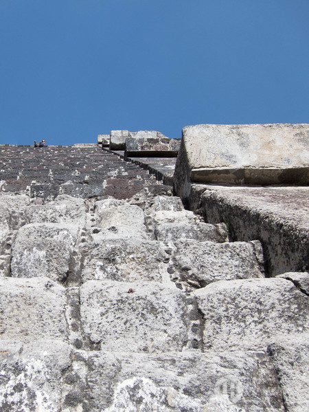 Looking Up the Pyramid of the Moon