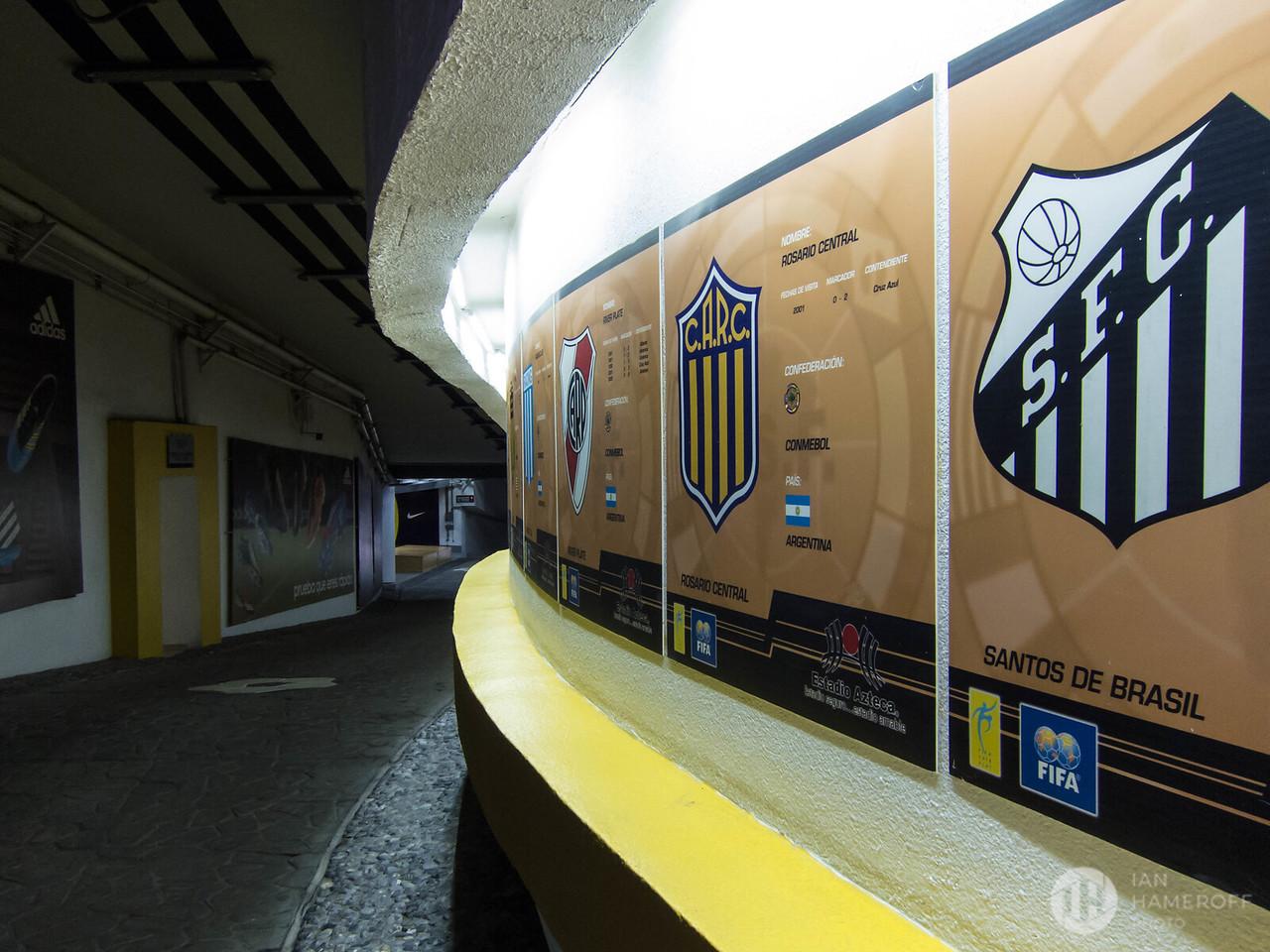 Estadio Azteca Tunnel