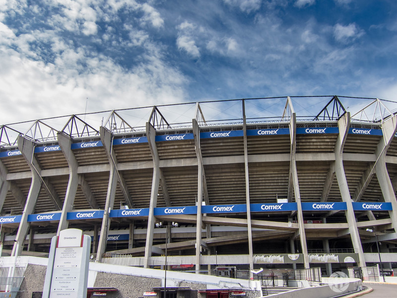 Approaching Estadio Azteca