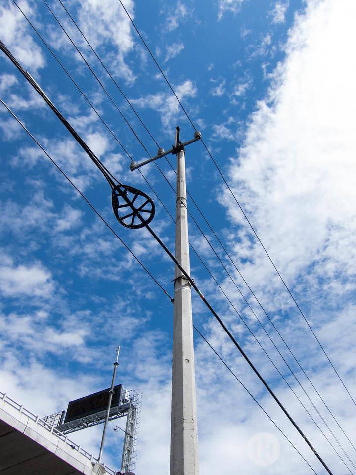 Power Lines Near Boulevard Adolfo Ruíz Cortinez