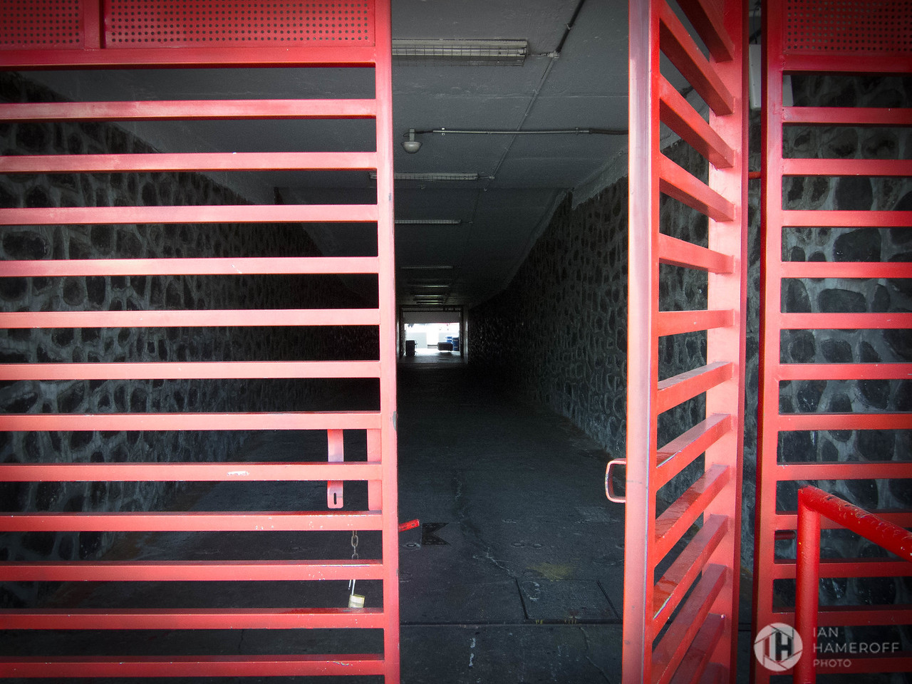 Red Gates to the Pitch