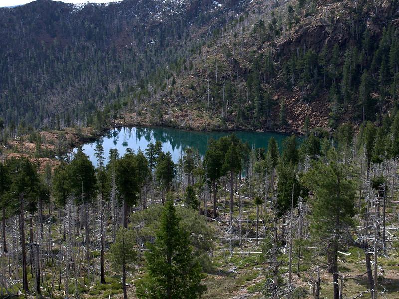 Vulcan Lake Kalmiopsis Wilderness Oregon