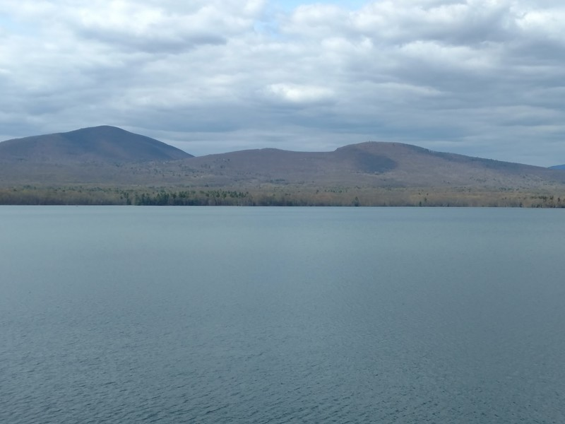 View from bike path along Ashokan reservoir