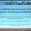 LGBTQ Curriculum
