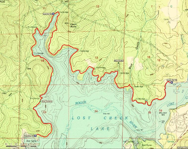 Lost Creek lake Oregon