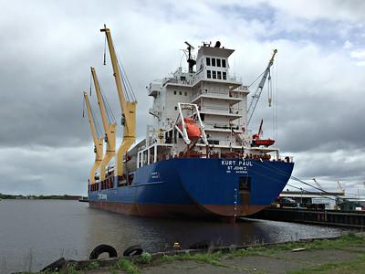 2016 05 29: Duluth Docks. Wind Turbines, Shipping