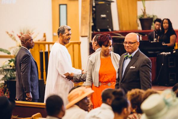 2016-06-11 Patmos Chapel Divine Service (Baptism +Pastor Juleun Johnson)