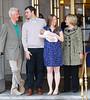 Hillary Clinton, Bill Clinton, Marc Mezvinsky, Chelsea Clinton