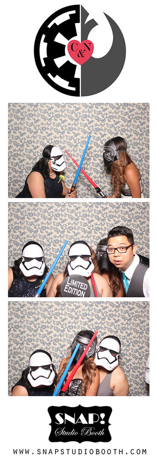 2016-06-25 Chris & Ngan's Wedding - Photo Booth