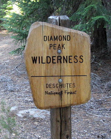 Diamond Peak Wilderness Oregon