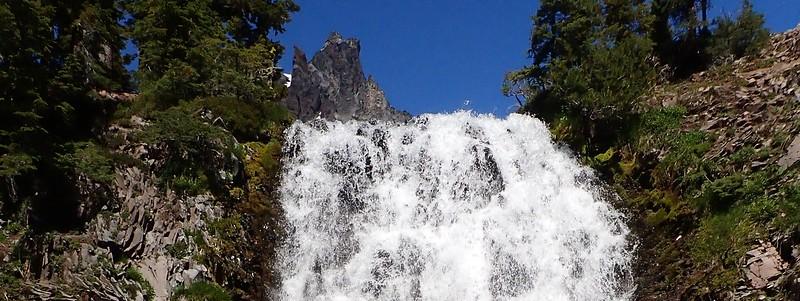 Cottonwood Creek Falls Mount Thielsen Wilderness Oregon