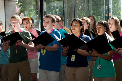 2016-07-26: Governor's School East Mixed Chorus Performance at NCDPI