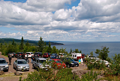 2016 08 06: Travels around Northshore, Finland, Two Harbors, Palisade Cliff