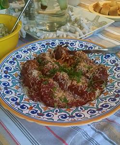 2016-08-14 - Rheinecker Pasta & Meatball Feast