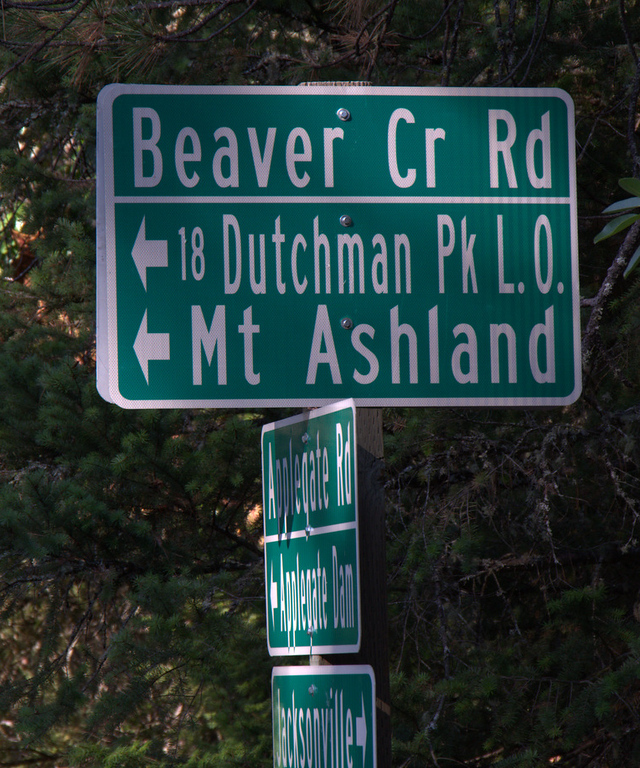 Siskiyou Crest Drive Forest Road 20 Oregon
