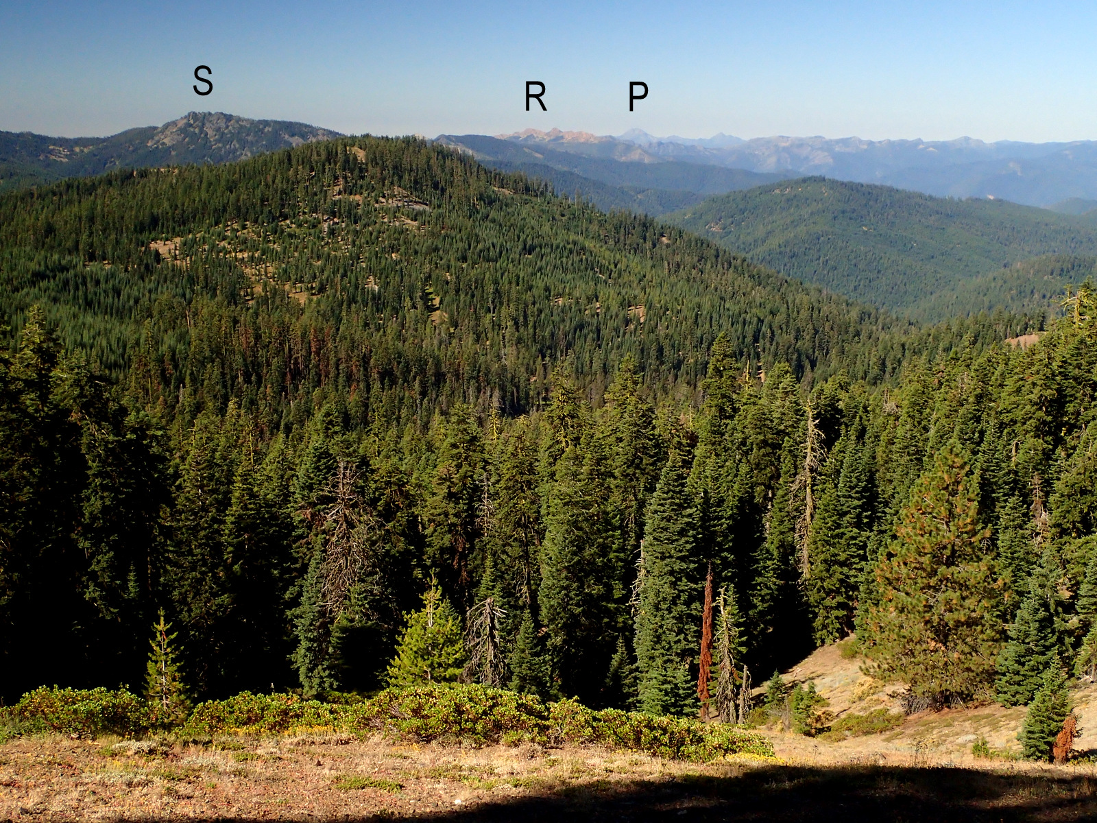 Silver Fork Basin Siskiyou Mountains Oregon