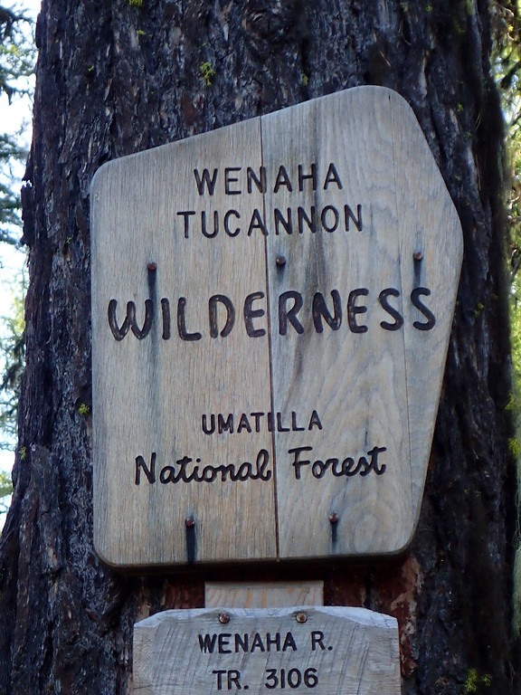 Wenaha-Tucannon Wilderness Oregon