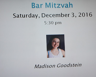 2016-11-03  Madison's Bat Mitzvah