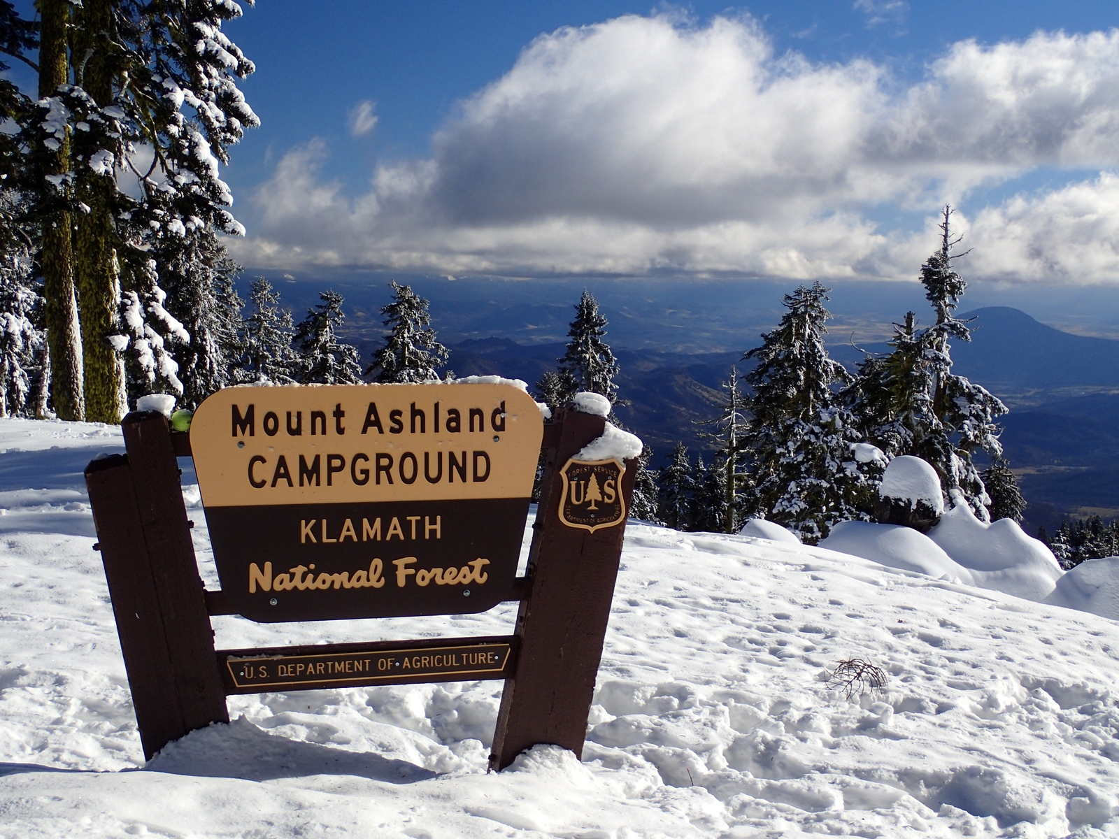 Mount Ashland Oregon
