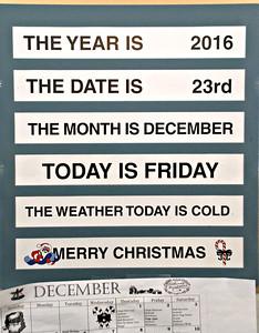 2016 12 23: Christmas, Door County, WI; Birchwood Memory Unit, Scandia Village