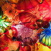 Colorful Glass Ceiling