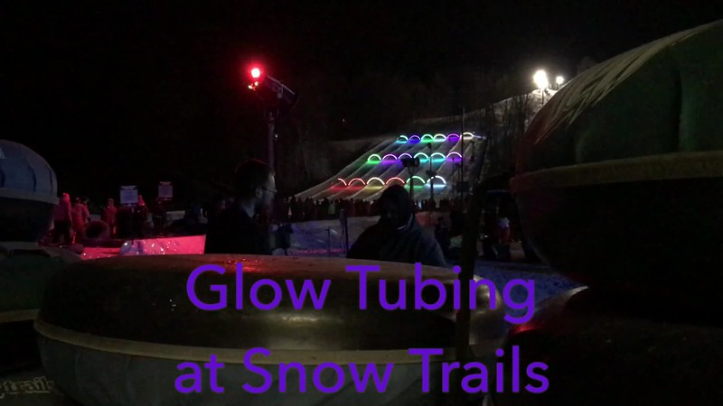 Glow Tubing at Snow Trails - Mansfield, Ohio