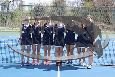Women's Tennis Team Photos (04/28/17)